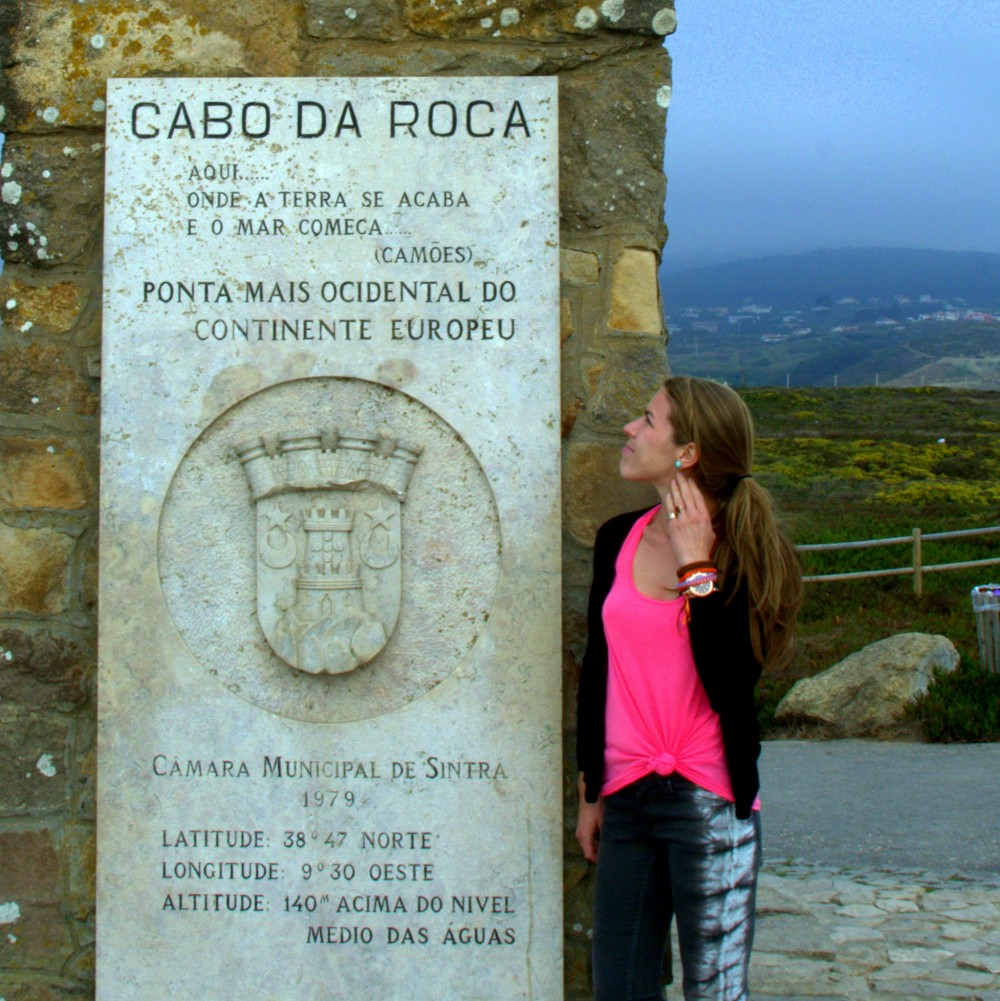 The monument of Cabo da Roca ©MLVB