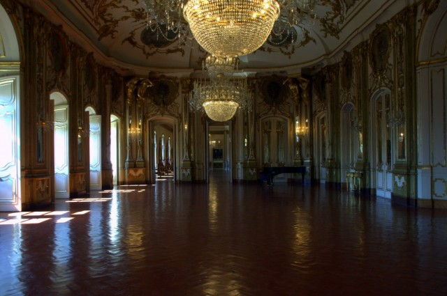 The Throne Room, Palácio de Queluz ©MLVB