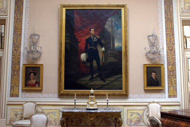 A painting of Pedro III in Palácio de Queluz ©MLVB