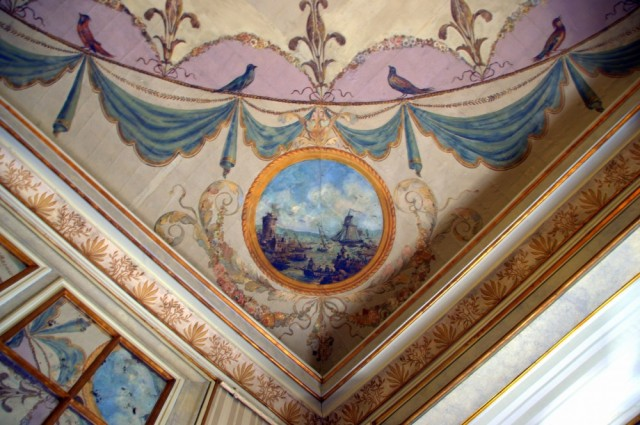 Palácio de Queluz: painted ceilings ©MLVB