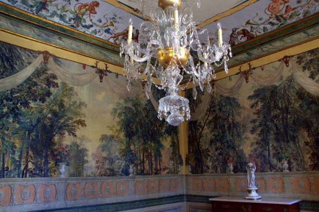 Wallpaper in Palácio de Queluz ©MLVB