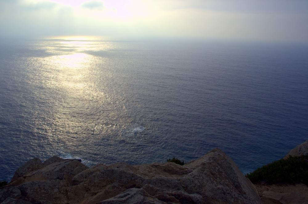 Cabo da Roca, sunset across the Atlantic ©MLVB