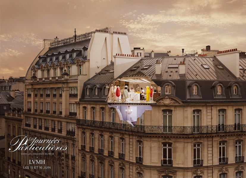 Photo DIOR LVMH by Laurent Chehere