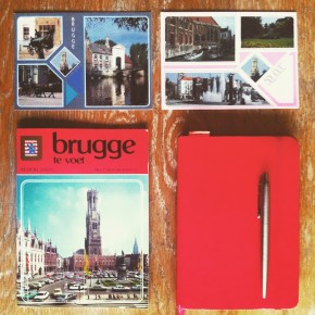 Bruges book and my notebook