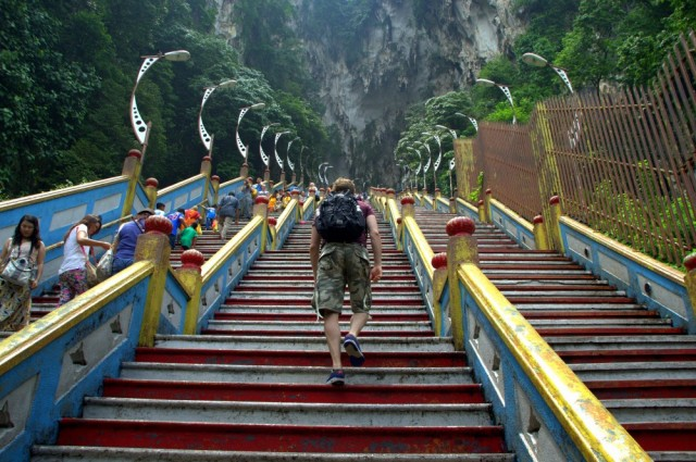 Stairs to the Batu caves