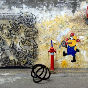 Street art capital: George Town, Penang