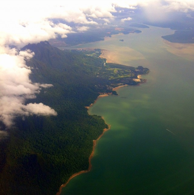 Borneo from above MLVB