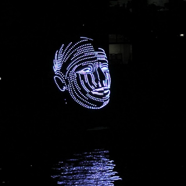 Talking Heads Amsterdam Light Festival