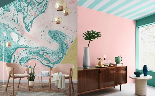Why do pastel colors attract most people in spring?