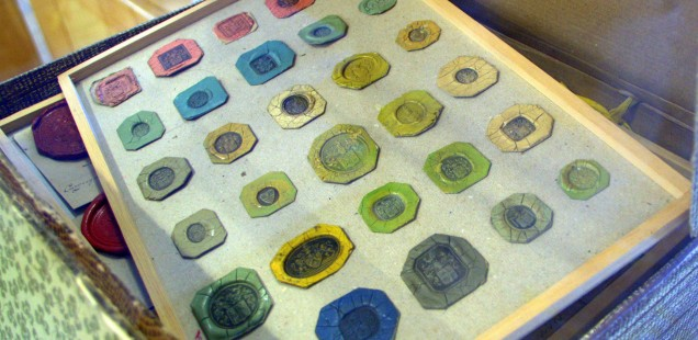 Heritage: stamps from the former Scryption Museum ©MLVB